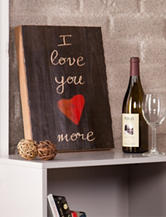 Holly & Martin I love you more Swoon Wall Panel