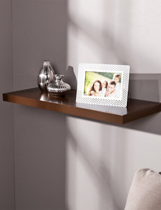 Southern Enterprises Chocolate Accent Shelves & Wall Hooks Wall Decor
