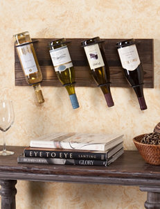 Southern Enterprises Saxon Wall Mount Wine Storage