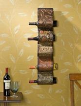 Southern Enterprises Florenz Wall Mount Wine Rack Sculpture