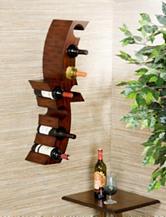 Southern Enterprises Calabria Wall Mount Wine Rack