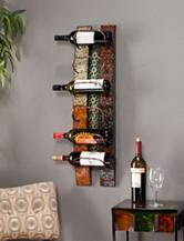 Southern Enterprises Adriano Wall Mount Wine Storage