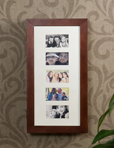 Southern Enterprises Cherry Finish Frames & Shadow Boxes Wall Decor