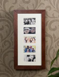 Southern Enterprises Cherry Finish Frames & Shadow Boxes Jewelry Storage & Organization Wall Decor