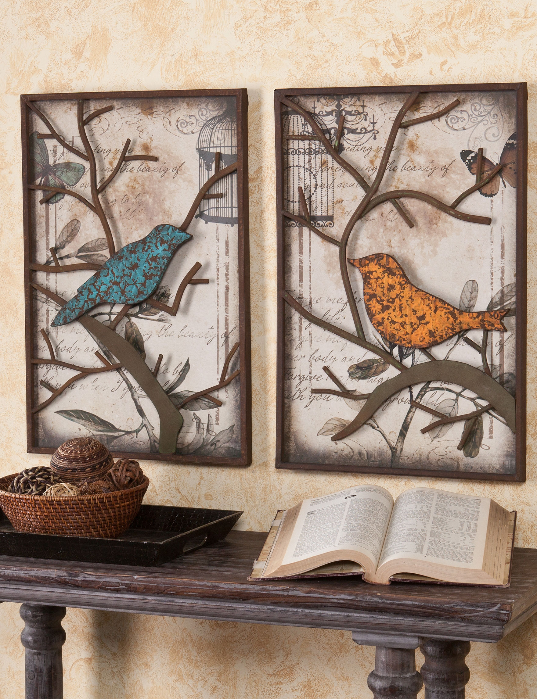 Southern Enterprises Brown Multi Wall Decor