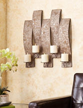 Southern Enterprises Clarissa Antique Wall Mount Candelabra