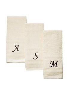 Monogram Decorative Embroidered Hand Towel