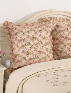 Modern Heirloom Pink Pillow Shams