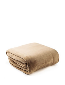 Great Hotels Collection Travertine Microlight Blanket