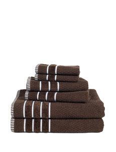 Lavish Home Chocolate Bath Towels Towels