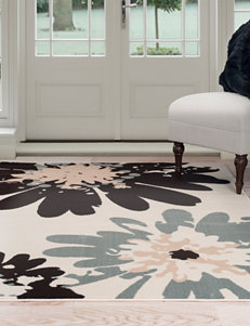 Lavish Home Blue/Brown/Ivory Rugs