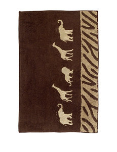 Avanti Animal Parade Collection Bath Rug