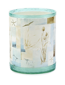 Avanti Blue Waters Collection Wastebasket