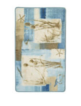 Avanti Blue Waters Collection Bath Rug