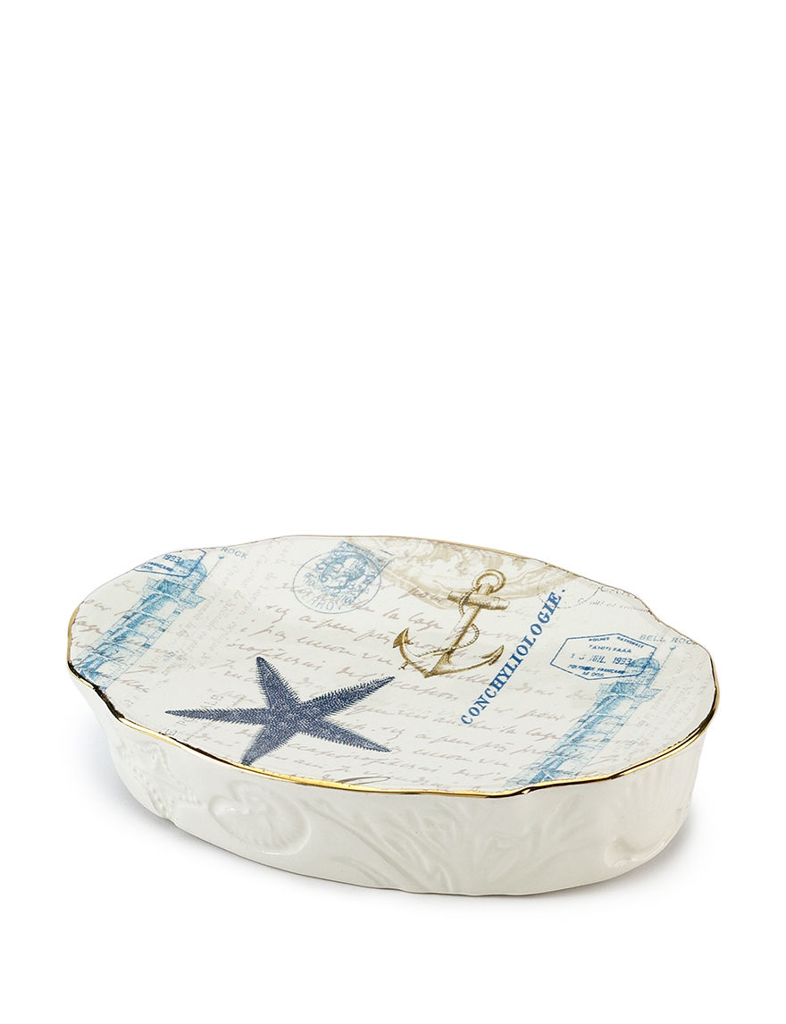 Avanti Ivory Soap Dishes Bath Accessories