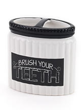 Avanti Chalk It Up Collection Toothbrush Holder