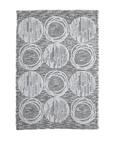 Avanti Galaxy Silver Bath Collection Bath Rug