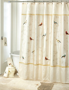 Avanti Ivory Shower Curtains & Hooks