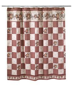 Avanti Hearts & Stars Bath Collection Shower Curtain