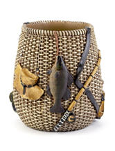 Avanti Rather Be Fishing Bath Collection Wastebasket