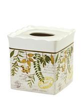 Avanti Foliage Garden Bath Collection Tissue Cover