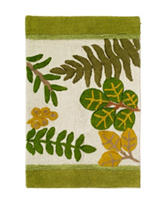 Avanti Foliage Garden Bath Collection Bath Rug