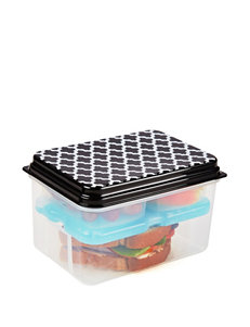 Fit & Fresh Black Food Storage Kitchen Storage & Organization