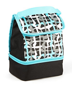 Fit & Fresh Blue / Black Lunch Boxes & Bags Kitchen Storage & Organization