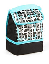 Fit & Fresh Austin Plaid Insulated Lunch Bag