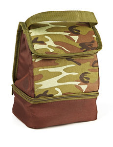 Fit & Fresh Brown / Green Lunch Boxes & Bags