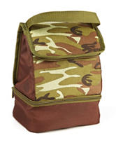 Fit & Fresh Austin Forest Camo Insulated Lunch Bag
