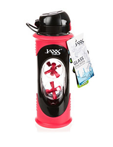 Jaxx by Fit & Fresh Pink Glass Shaker Cup