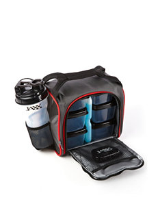 Fit & Fresh Black Lunch Boxes & Bags