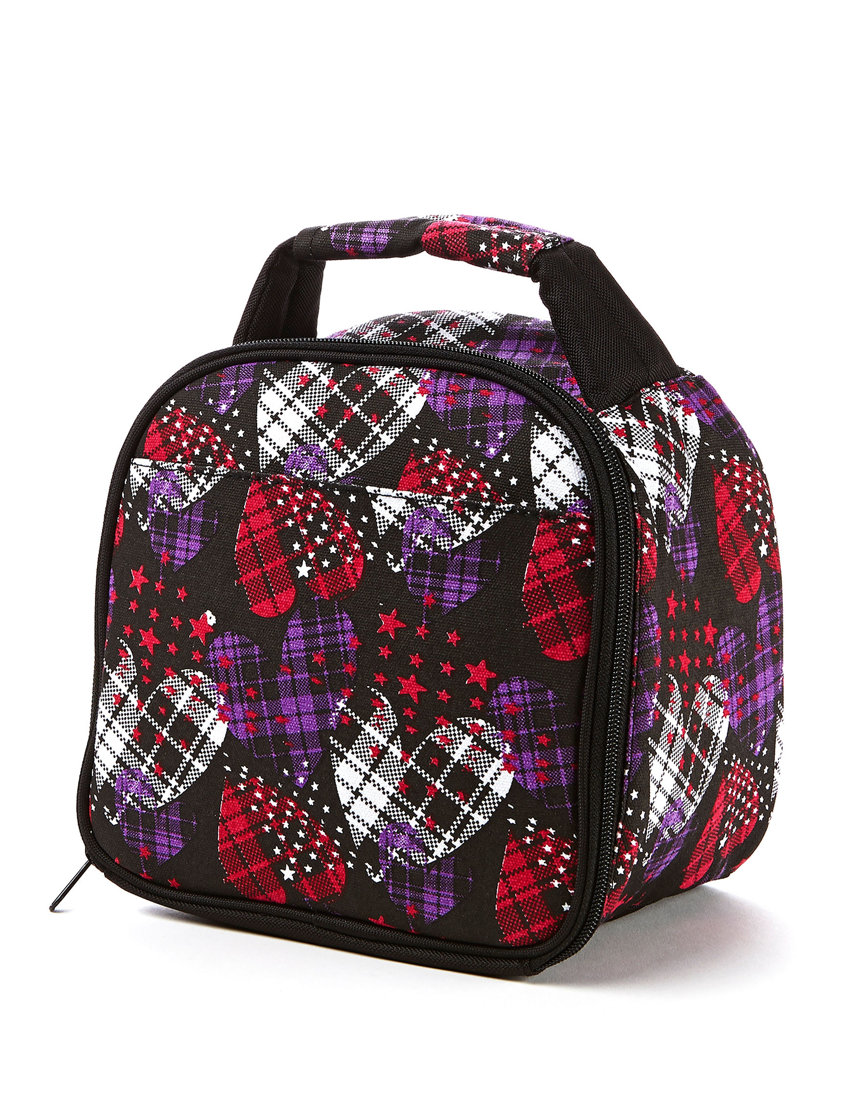 Fit & Fresh Black / Red Lunch Boxes & Bags Kitchen Storage & Organization