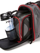 Fit & Fresh Jaxx Black & Red Duffel Fuel Pack