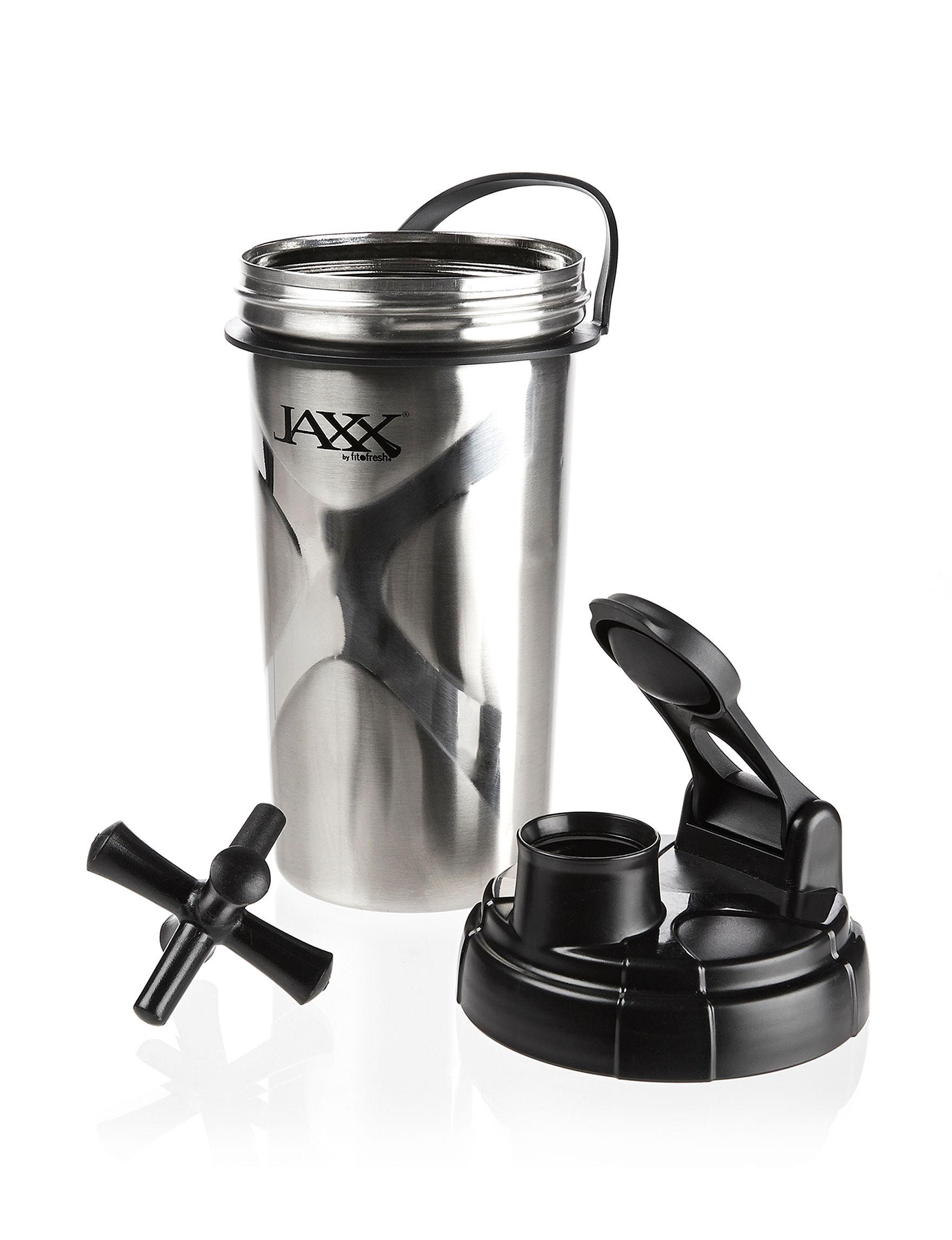 Jaxx Silver Water Bottles Drinkware