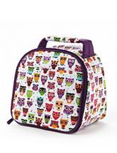 Fit & Fresh Gabby Rainbow Owl Insulated Lunch Bag
