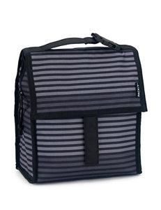 Packit® Mini Cooler in Black Stripes – Gray Stripe