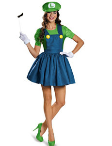 4-pc. Super Mario: Luigi Dress Costume