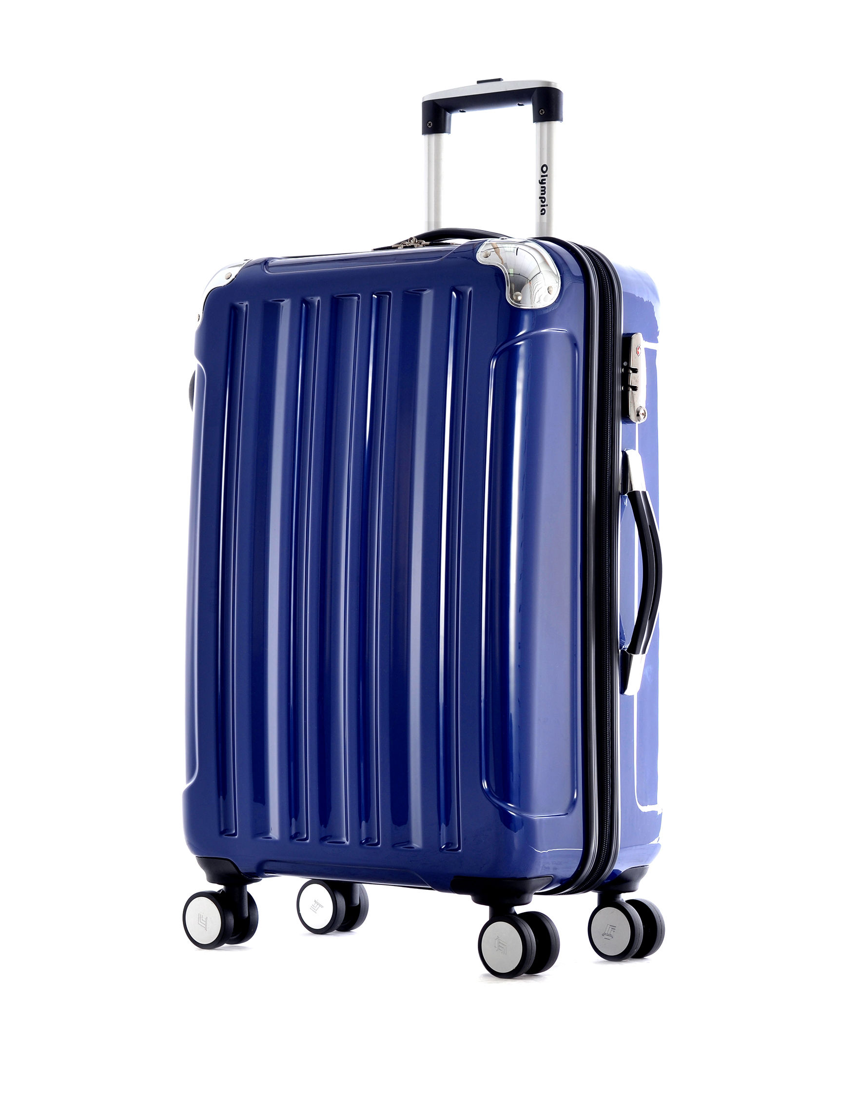 Olympia Blue Upright Spinners