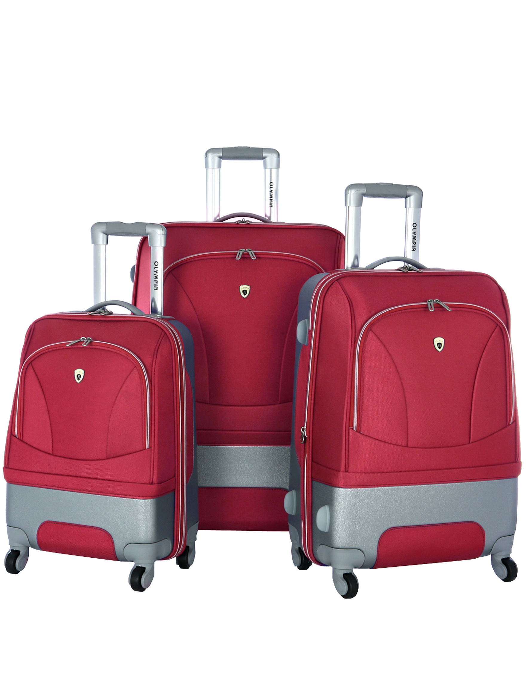 Olympia Red Luggage Sets