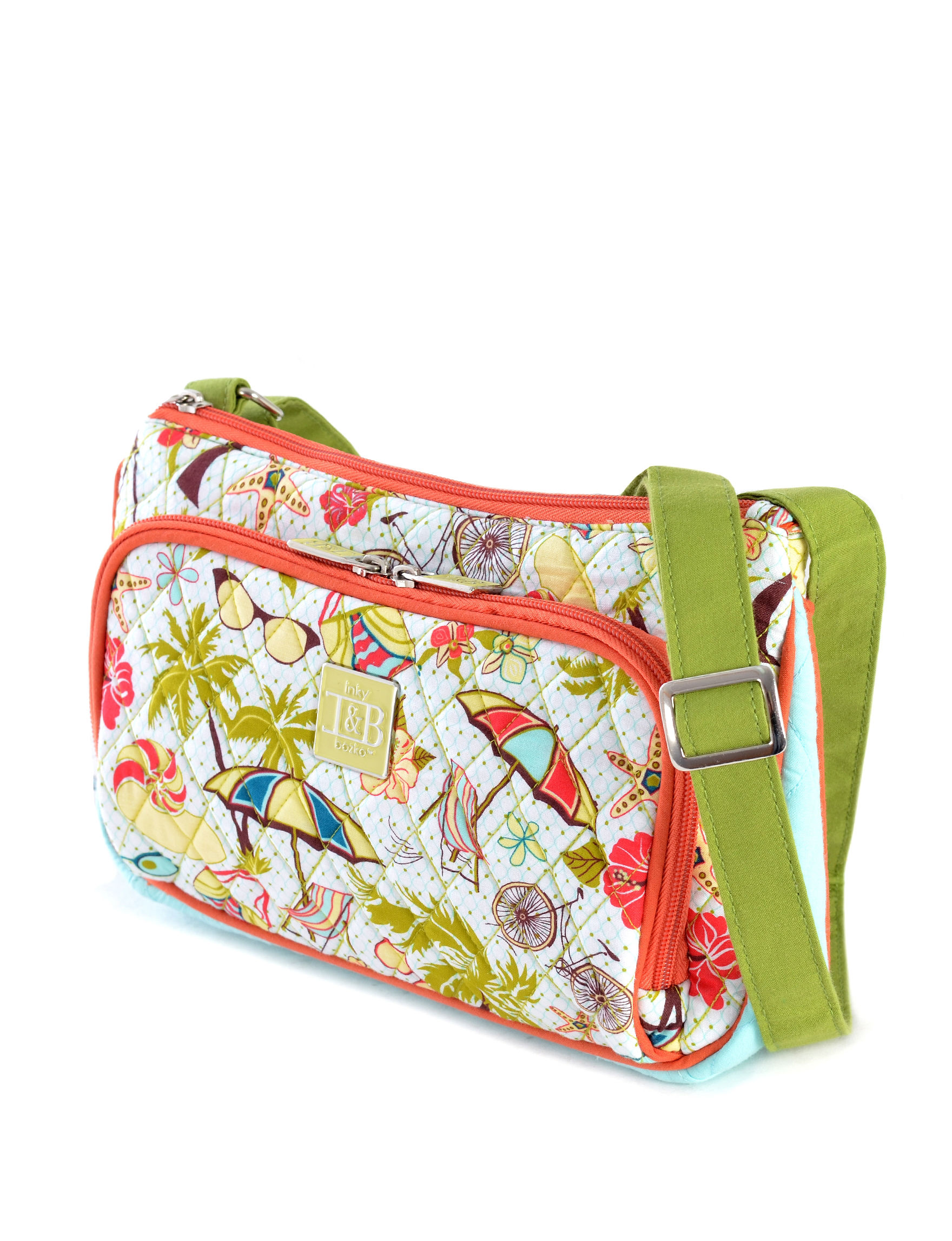 Inky & Bozko Orange Lunch Boxes & Bags Laptop & Messenger Bags