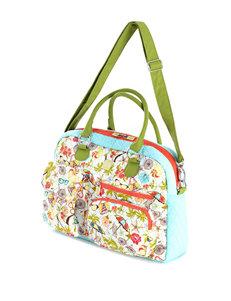 Inky & Bozko Green / Black Laptop & Messenger Bags