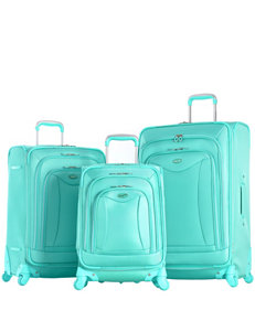 Olympia Mint Luggage Sets