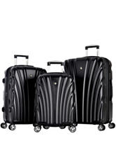Olympia USA  3-pc. Vortex Hardcase Luggage Set