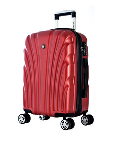 Olympia Wine Luggage Sets Upright Spinners