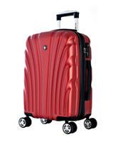 Olympia USA Wine Vortex Hardcase Luggage Set
