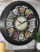 FirsTime Manufactory Numeral Plaques Wall Clock