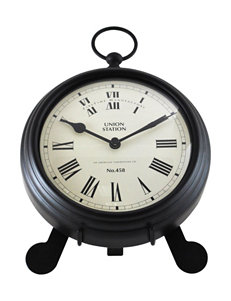 Firstime Manufactory  Desk Clocks Home Accents