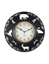 FirsTime Lodge Collection Wall Clock